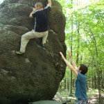 Grayson Highlands Bouldering…..