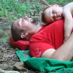Toddler Sleep at the Crag:  Play Hard, Sleep Hard.