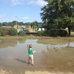 A Simple Green Hour:  Choosing Puddles Over Playgrounds