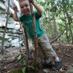 A Peachy KEEN Start to Fall with Toddler Hiking Boots