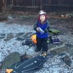 A North Carolina Snow Day – We Take What We Can Get Around Here…