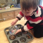 Toddler Science Experiments:  Ice Ice Baby!