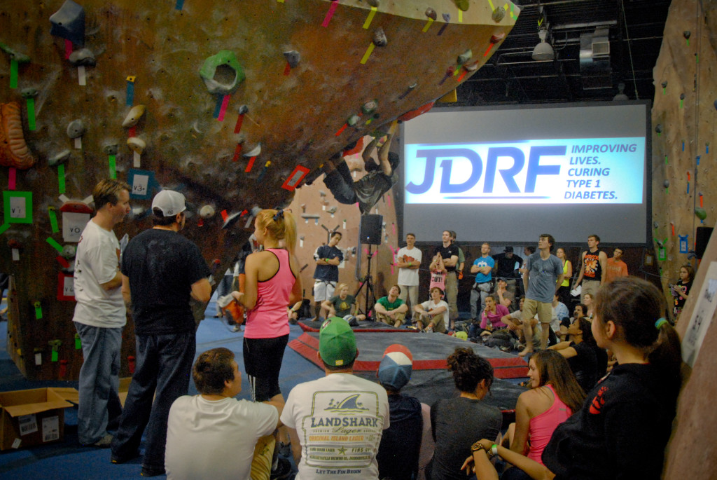 View of Audience with JDRF Logo