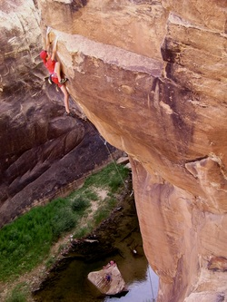 Harry on Ships of Tarshish (5.14a)