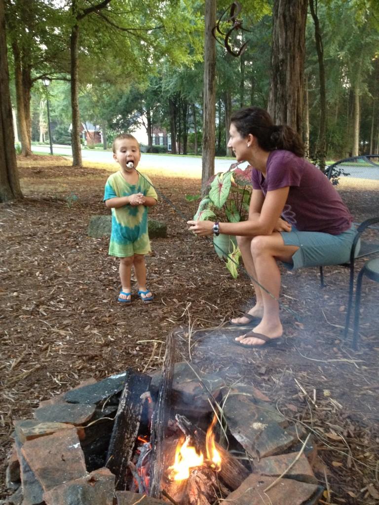 Firepit Fridays are a tradition we established last summer!
