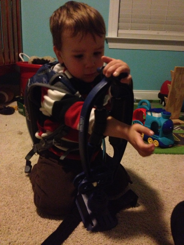 Arm-aid is good for climbers of all ages.