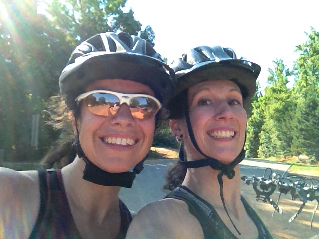 "A Friday afternoon""Ladies Only"" Ride with a fellow cragmama"
