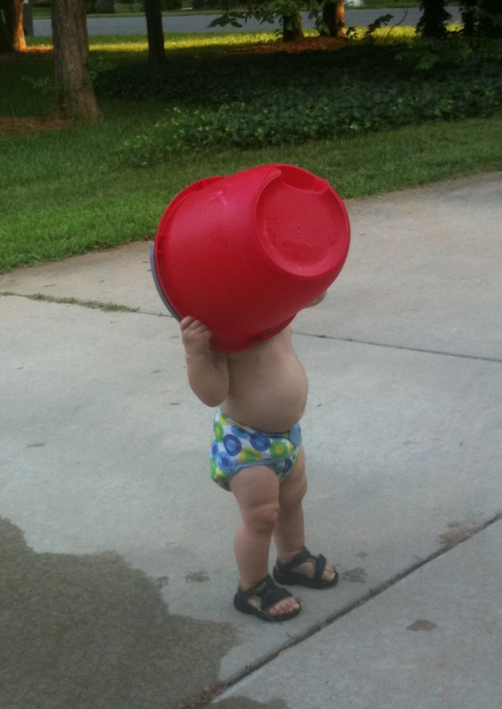 Sometimes the bucket treatment is self-inflicted...