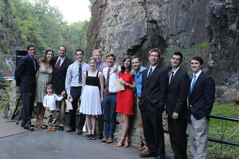 Charlotte climbing crew...looking pretty darn snazzy!