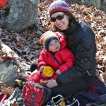 Keeping Your Toddler Warm on Winter Climbing Trips