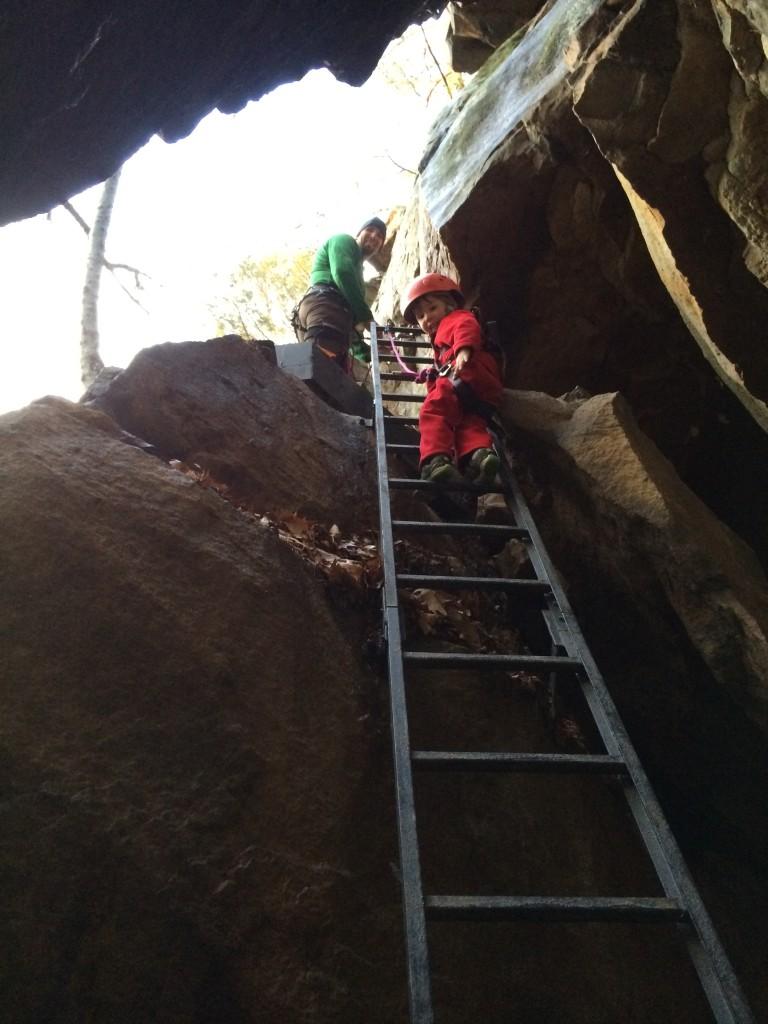 Halfway up Ladder #2