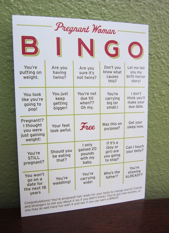 Photo Credit: http://www.etsy.com/listing/66647545/pregnant-woman-bingo-card