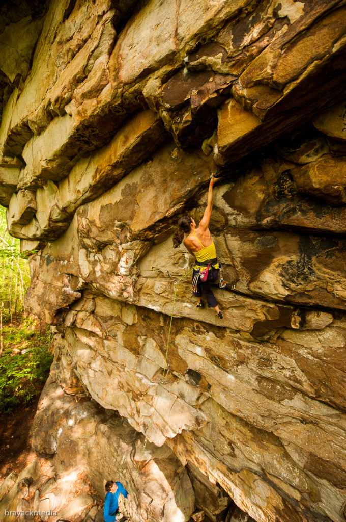Go Cat Go (5.12b), another route I'd love to have another crack at!