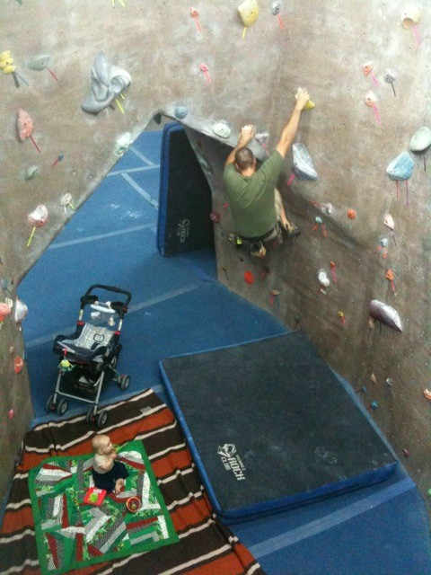 Training is going to look like this again...but this time with a 4 year old too!