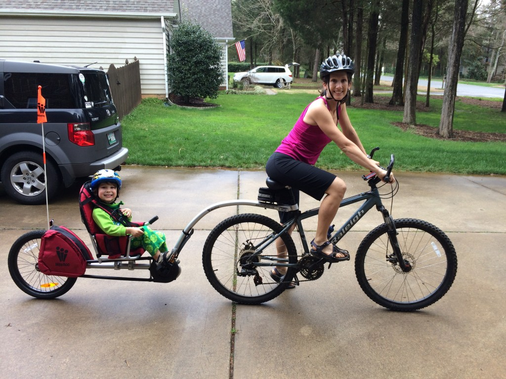 Getting back on the saddle with postpartum exercise (literally ;))