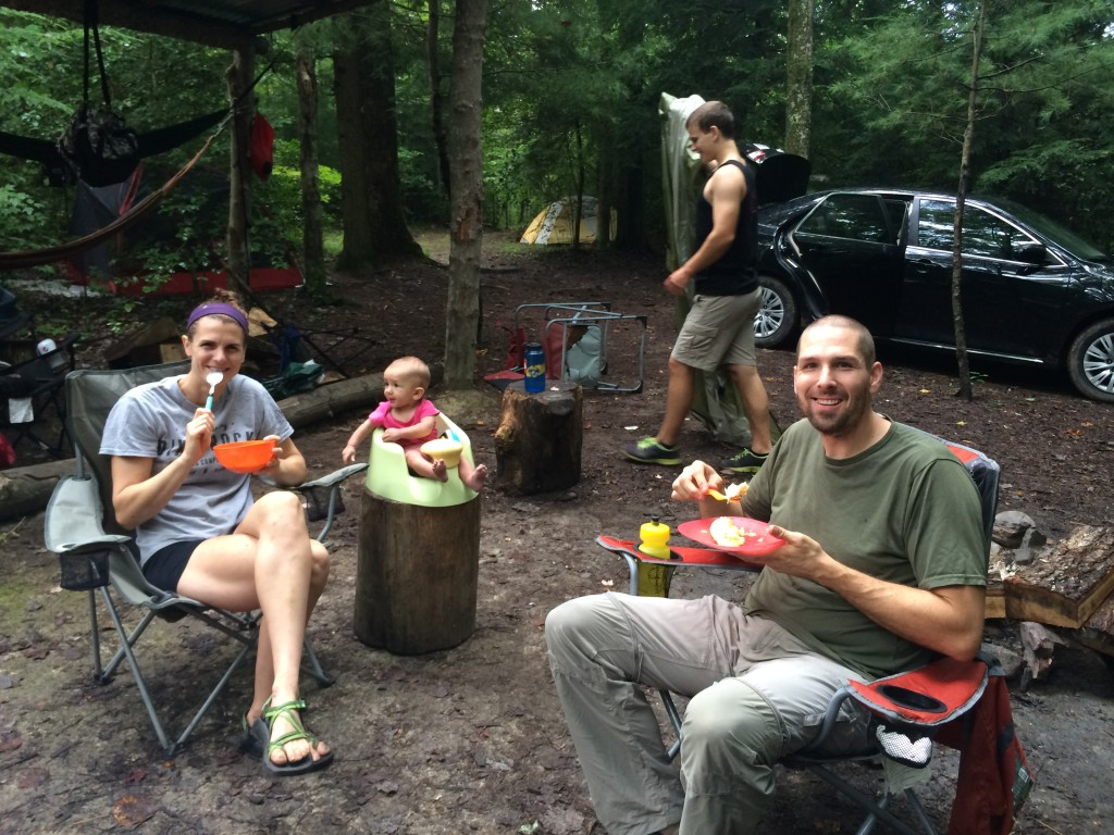 More campsite breakfast fun