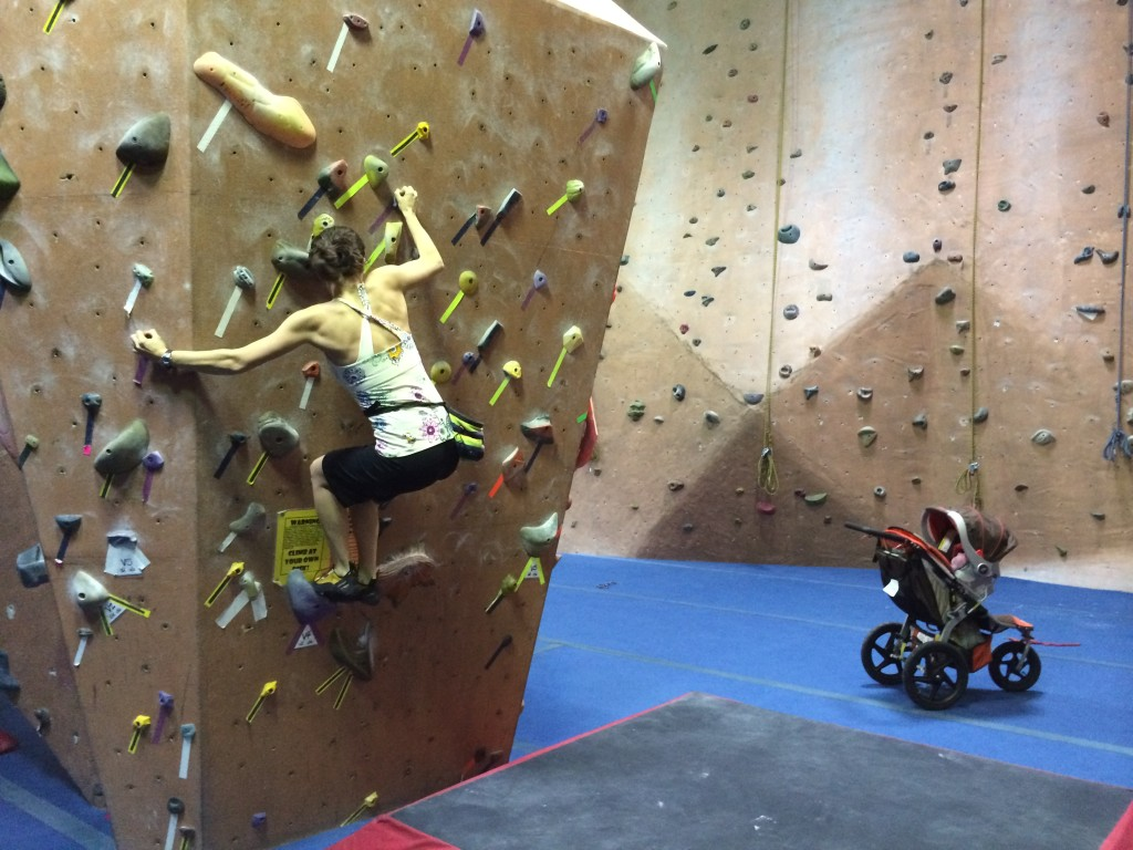 Bouldering intervals in the early weeks