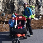 Family Climbing to End/Start the Year