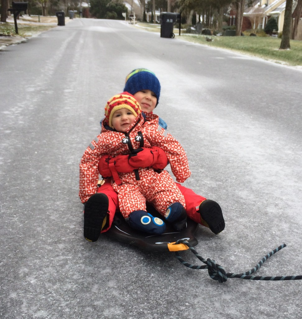 I love it when they are sweet to each other.