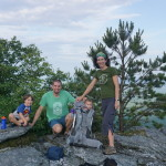 Gettin' High Off the Ground in Linville Gorge