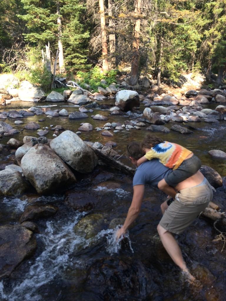 Creek-crossing shenanigans...