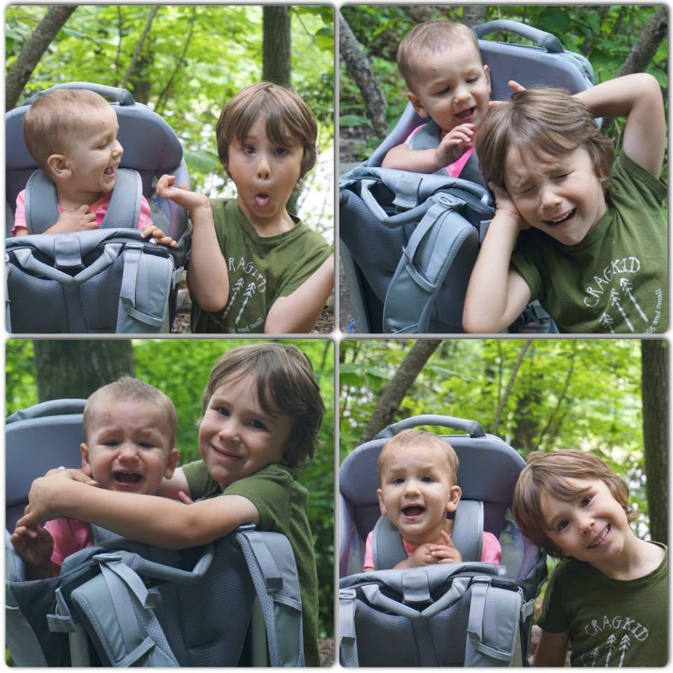 Sibling love...so many emotions in a span of about 5 minutes.