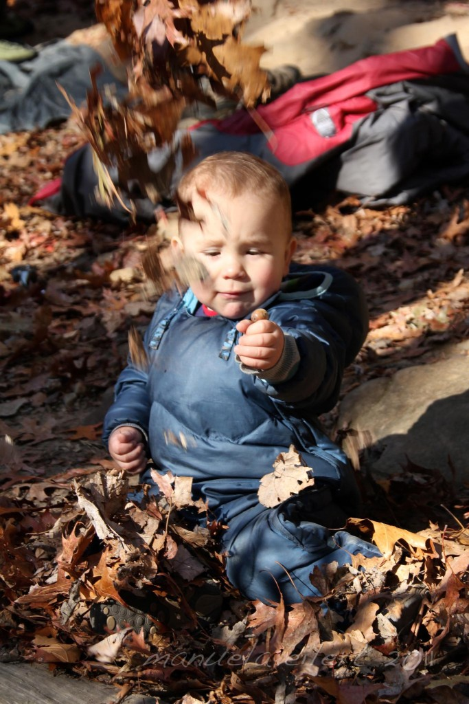 20 months old at the Red River Gorge, November 2011