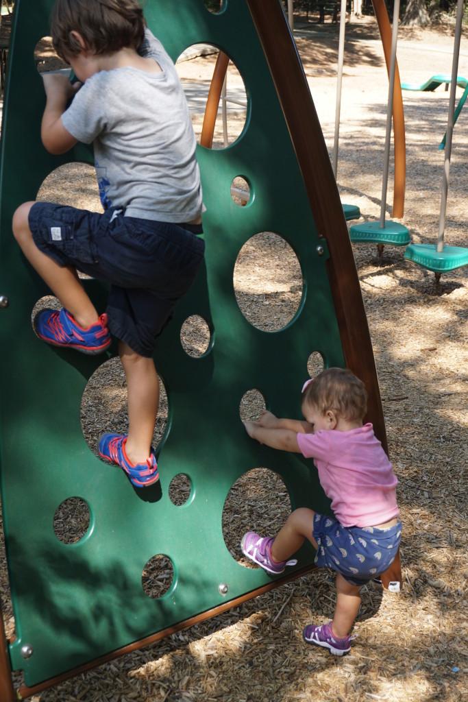 Rigorous playground testing.