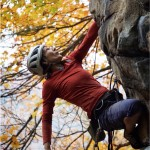 New River Gorgeous Fall Climbing!