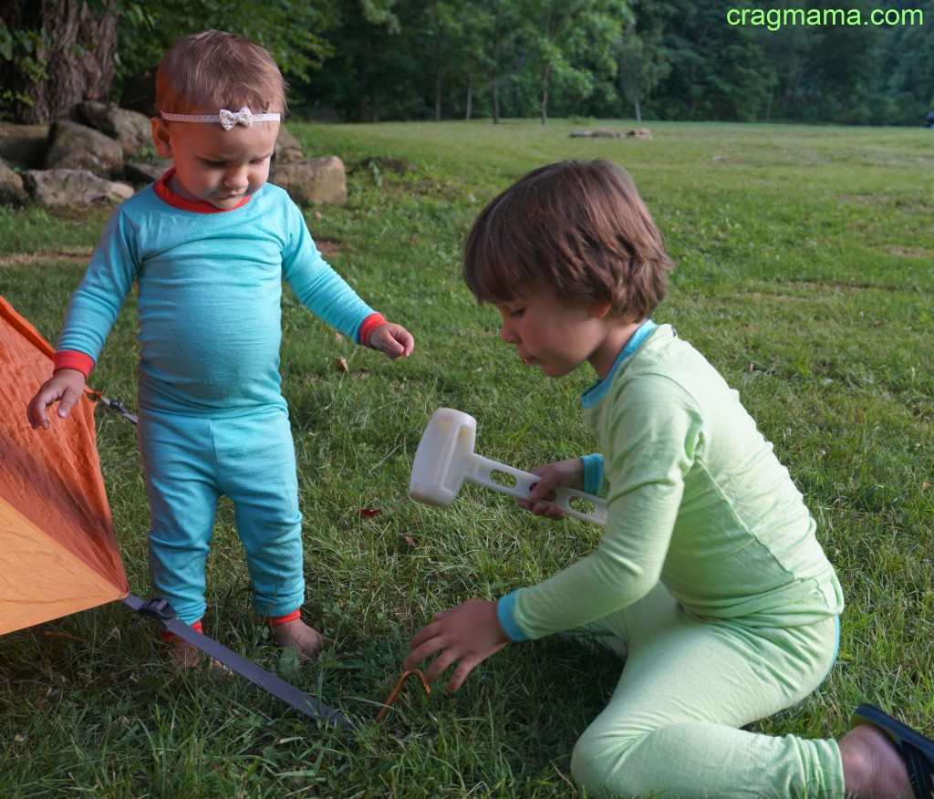 A couple of cute camp helpers.