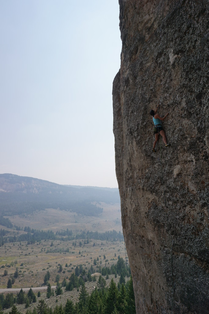Last climb of my Ten Sleep Birthday Challenge - 35th lifetime 5.12 on my 35th bday!