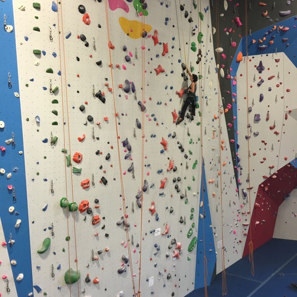 Another day, another auto-belay...