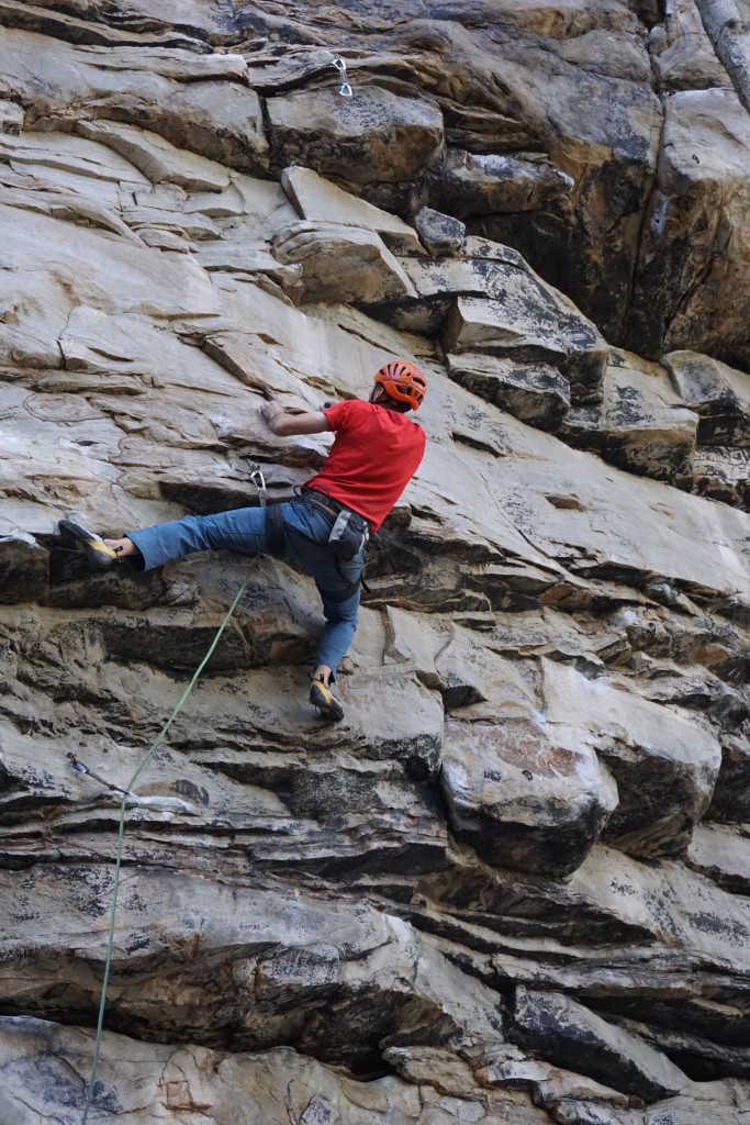 CragDaddy cruxin' on Control 12a