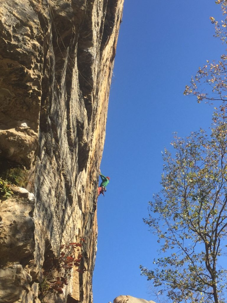 CragDaddy on Abiyoyo 12b