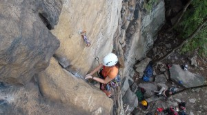 Lieback and Enjoy It 5.10d, Sandstonia, NRG