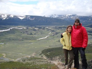 View from the Bunsen Peak Summit