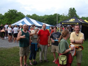 Hanging out with new friends at the '09 Rendezvous