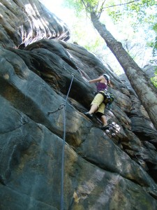 Pondering the crux on Radial Rimmed