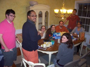"""Enjoying the spiritual similarities we have with our """"Community Group"""" from Vintage21"""