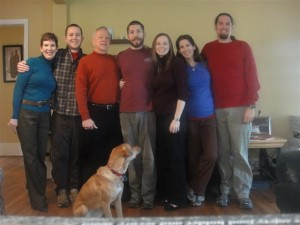 Christmas with the Lineberry's in Atlanta