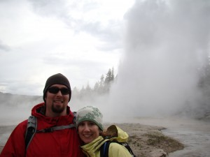 Lineberry family trip to Yellowstone in June