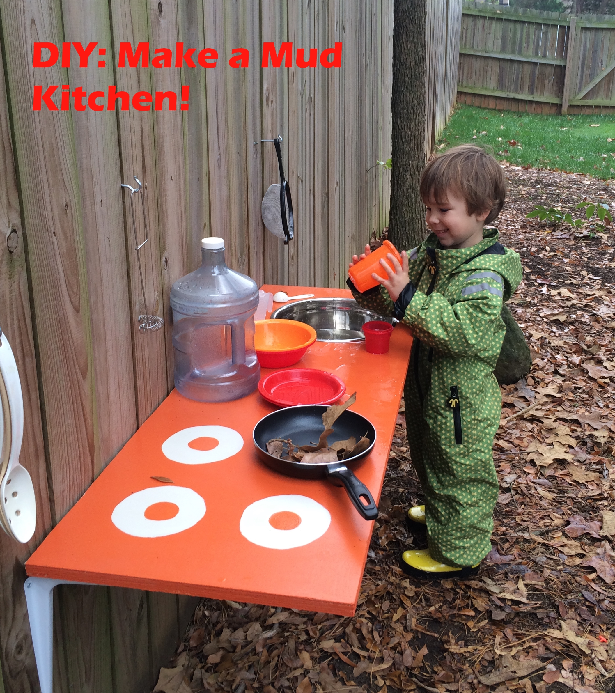 6 Simple Steps To Make Your Small Kitchen Work: DIY Backyard Adventures: Let's Make A Mud Kitchen!